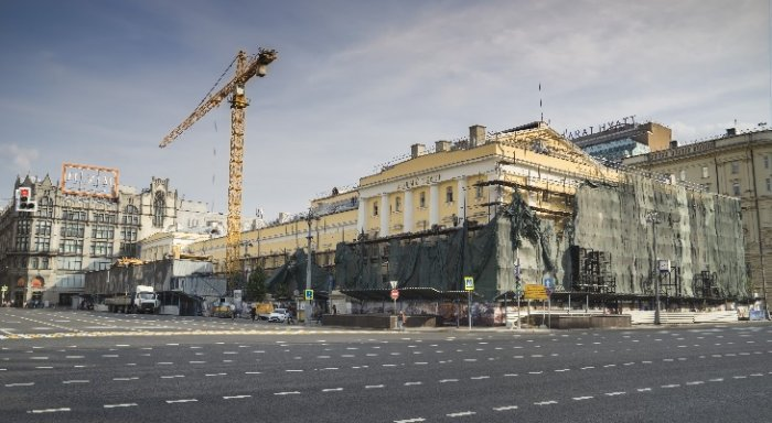 Сооружение Малого театра откроют после реконструкции кконцу осени этого года