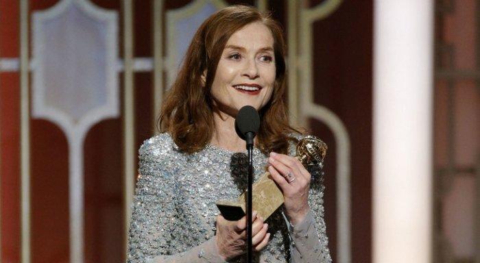 Изабель Юппер получила «Золотой глобус» зароль вкартине «Она»