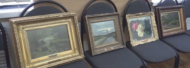 Картинки по запросу Украденные картины Левитана возвращены в музей