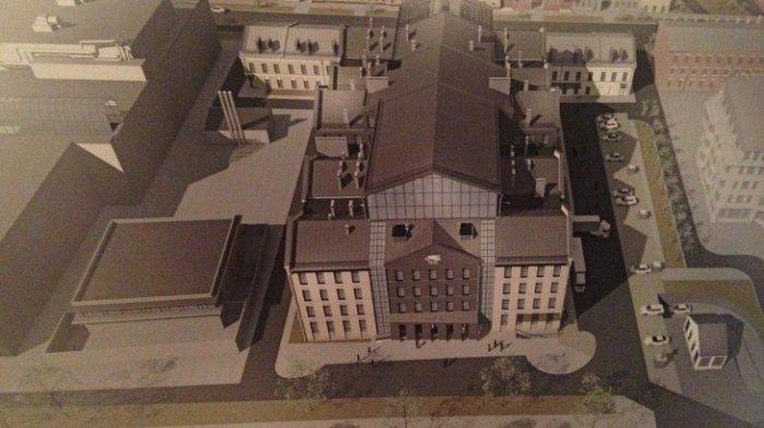 Новейшую сцену МДТ вПетербурге планируется построить доконца 2019г.